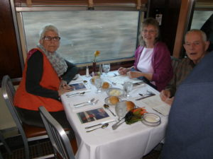Photo of the Eastern Flyer Dining Car