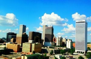 photo of downtown Tulsa