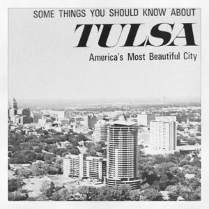 1960's Promotional Photo declaring Tulsa as America's Most Beautiful City