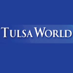 Tulsa World Blue Logo