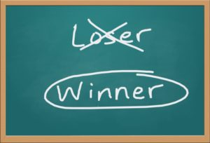 Text graphic: Winner or Loser?