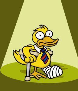 lame duck cartoon image