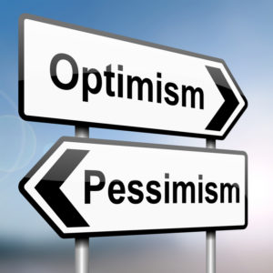 Text image -pessimism or optimism