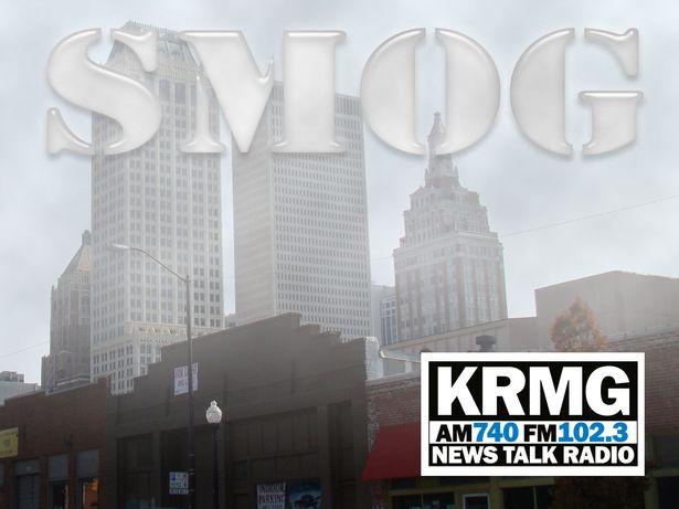 smog in Tulsa