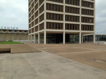 Future site of Aloft Hotel Main Entrance