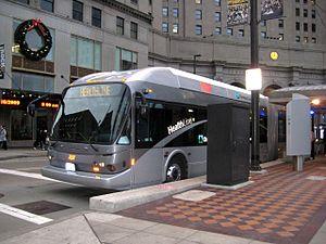 Cleveland HealthLine BRT Bus